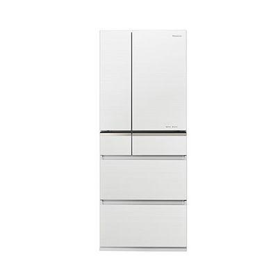 パナソニック 470L 6ドア パーシャル搭載冷蔵庫 マチュアホワイト NR-F475XPV-W