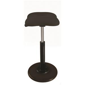 その他 モダン スツール/丸椅子 【ブラック×ブラック】 幅33cm 日本製 『ツイストスツールラフレシア Kモーション』【代引不可】 ds-2154545