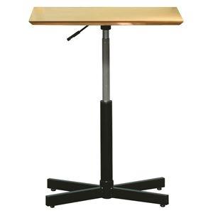 その他 昇降サイドテーブル 【ナチュラル×ブラック】 幅60cm 日本製 木製 スチールパイプ 耐荷重30kg 『ブランチ ヘキサテーブル』 ds-2154553