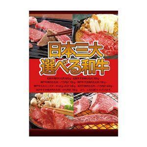 その他 A3パネル日本三大選べる和牛【代引不可】 ds-2151785