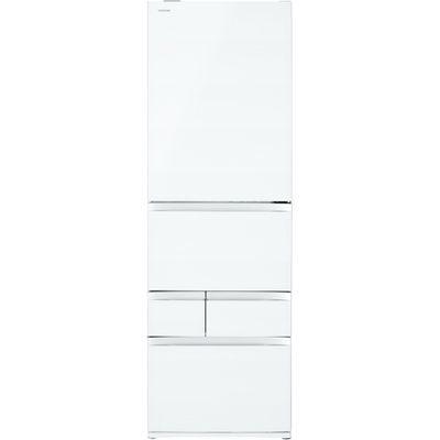 東芝 VEGETA(ベジータ) 5ドア冷蔵庫(465L・右開き) クリアグレインホワイト GR-R470GW-UW【納期目安:3週間】