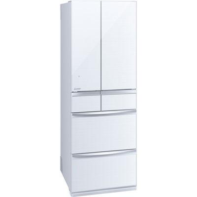 三菱電機 6ドア 455L 置けるスマート大容量 MXシリーズ 冷蔵庫 (クリスタルホワイト) MR-MX46E-W