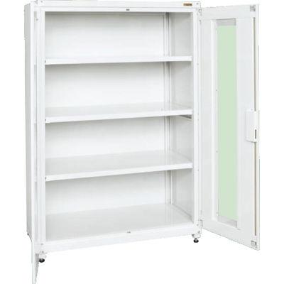 サカエ 保管システム透明窓付扉タイプ (ホワイト) PNH-1263AW
