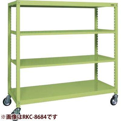 サカエ キャスターラックRK型 (グリーン) RKC-5684