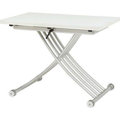 HAGIHARA(ハギハラ) エクステンション昇降テーブル(ホワイト) KT-3196WH 2090911600