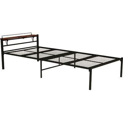 HAGIHARA(ハギハラ) シングルベッド(ブラック) KH-3085BKS 2090915500