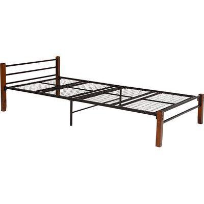 HAGIHARA(ハギハラ) シングルベッド(ブラウンブラック) KH-3087BK 2090920300