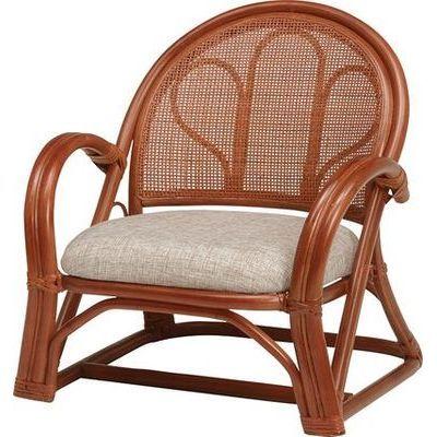 HAGIHARA(ハギハラ) 【2個セット】籐楽々座椅子 RZ-671BR 2101850700