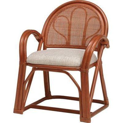 HAGIHARA(ハギハラ) 【2個セット】籐楽々座椅子 RZ-673BR 2101850900