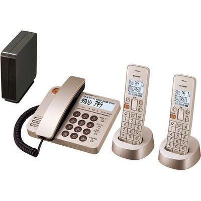 シャープ JD-XG1CWN コードレスデザイン電話機 シャンパンゴールド JD-XG1CW-N【納期目安:2週間】