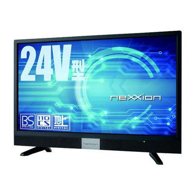 ネクシオン Nexxion 24V型地上波デジタル/BS/CSハイビジョン液晶テレビ ブラック FT-C2460B