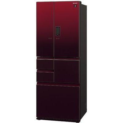 シャープ プラズマクラスター 冷蔵庫 (グラデーションレッド系) SJ-GA50E-R【納期目安:約10営業日】