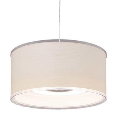 アイリスオーヤマ LEDデザインペンダントライト深型 調光 12畳 (ホワイトオーク) PLM12D-FDWO【納期目安:1週間】