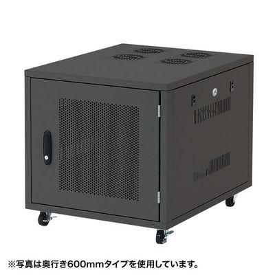 サンワサプライ 19インチサーバーボックス(9U) CP-SVNC2