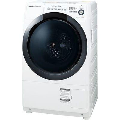 シャープ ドラム式洗濯乾燥機ホワイト系・右開き ES-S7D-WR【納期目安:約10営業日】