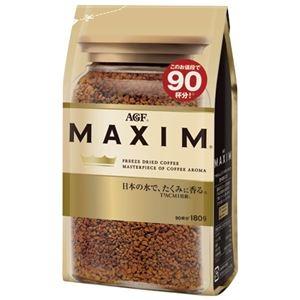 その他 (まとめ) 味の素AGF マキシムインスタントコーヒー袋 180g【×10セット】 ds-2157356