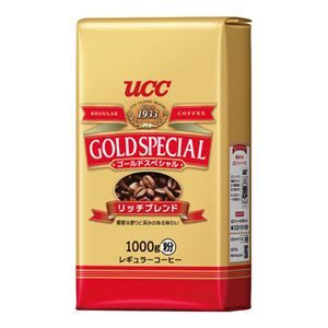 その他 (まとめ) UCC ゴールドSPリッチブレンド1kg 3袋【×3セット】 ds-2157421