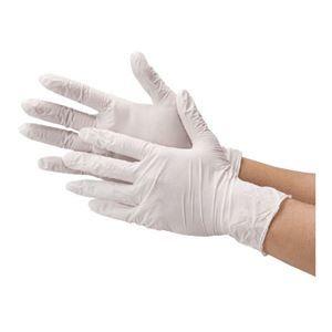 その他 川西工業 ニトリル使い切り手袋 ホワイトL 10箱 ds-2157601