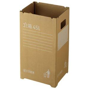その他 (まとめ) リス ダンボールゴミ箱 45L GGYC725 2枚入【×10セット】 ds-2158409