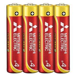 その他 (まとめ) 三菱電機 三菱電機アルカリ乾電池 単4形 40本【×5セット】 ds-2158460