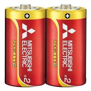 その他 (まとめ) 三菱電機 三菱電機アルカリ乾電池 単2形 10本【×10セット】 ds-2158467