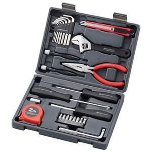 その他 (まとめ) 角利産業 ブック型工具セットB5 MBK-27【×3セット】 ds-2158561