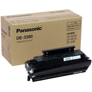 その他 Panasonic プロセスカートリッジ DE-3380 ds-2159382