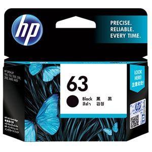 その他 (まとめ) HP インクHP63 F6U62AAブラック【×5セット】 ds-2159465