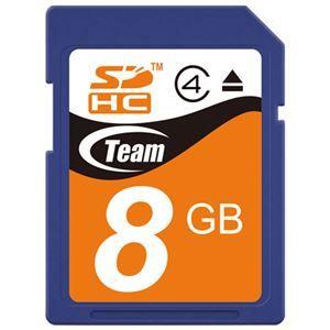 その他 (まとめ) TEAM SDHCカード 8GB TG008G0SD24X【×10セット】 ds-2159522