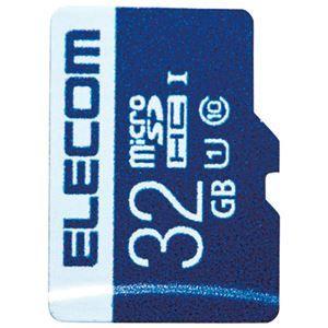 その他 (まとめ) エレコム microSDHCカード 32GB MF-MS032GU11R【×5セット】 ds-2159547