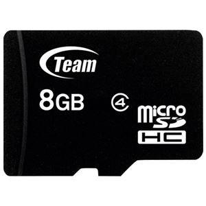 その他 (まとめ) TEAM microSDHCカード 8GB TG008G0MC24A【×10セット】 ds-2159555
