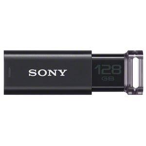 その他 ソニー USBメモリー 128GB USM128GU B ブラック ds-2159590