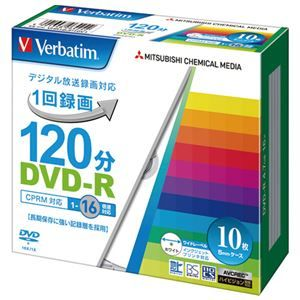 その他 (まとめ) 三菱ケミカルメディア 録画用DVD‐R 10枚 VHR12JP10V1【×10セット】 ds-2159616