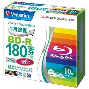 その他 (まとめ) 三菱ケミカルメディア 録画用BD-R 10枚 VBR130RP10V1【×10セット】 ds-2159627