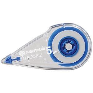 その他 (まとめ) スマートバリュー 修正テープ 5mm×8m 40個 H071J-B40【×3セット】 ds-2160082