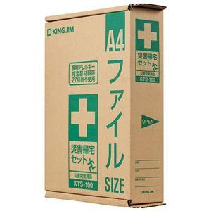 その他 (まとめ) キングジム 災害帰宅セット KTS-100【×3セット】 ds-2160283