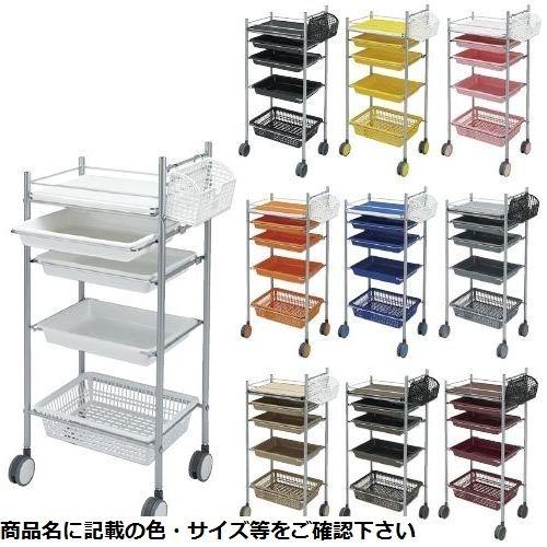松吉医科器械 カラーアプリワゴン SN-AP002 ブラック CMD-0086488502【納期目安:1週間】