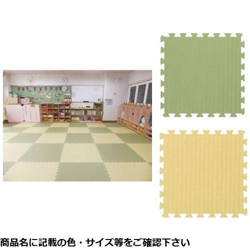 その他 たたみ調ジョイントクッション JQN90(グリーン)90×90cm CMD-00875258【納期目安:3週間】