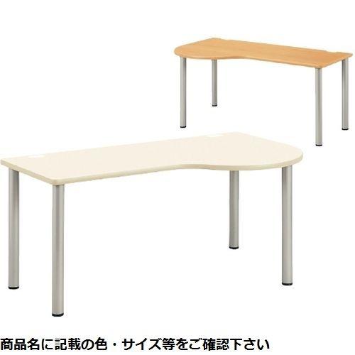 その他 ドクターテーブル(右R) NSD-1890R(180×90×70) 木目 CMD-0086676302【納期目安:2週間】