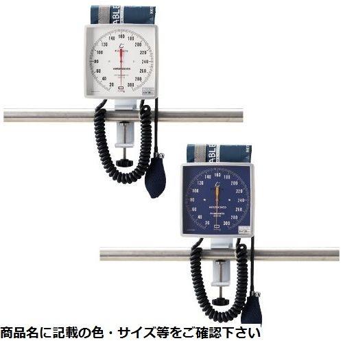 ケンツメディコ 大型アネロイド血圧計(クランプ型) NO.541(ブルー)Wカフ 24-3264-01【納期目安:1週間】