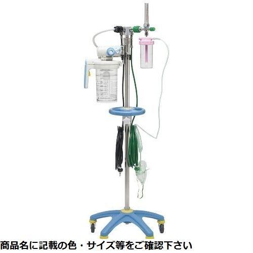 新鋭工業 酸素吸引スタンド(酸素1口・吸引1口 OVH-1000 P型(川重型) CMD-0087423001【納期目安:1週間】