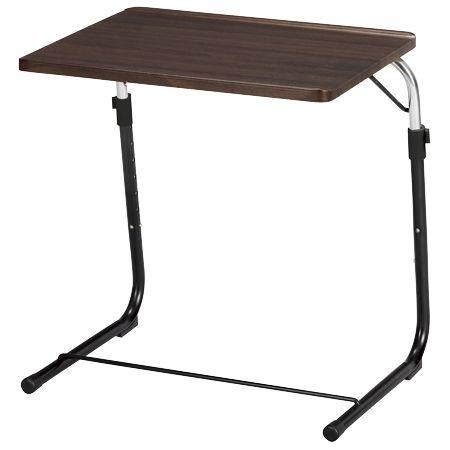 その他 折りたたみサイドテーブル FST(ブラウン) 24-6562-01【納期目安:2週間】