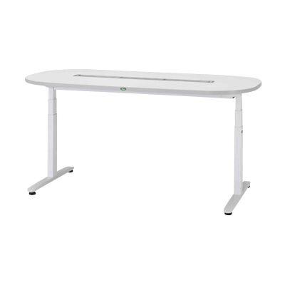 サカセ化学工業 ナーシングテーブル(天板電動昇降式) NT-102S(1800×900) 24-6600-01【納期目安:1週間】