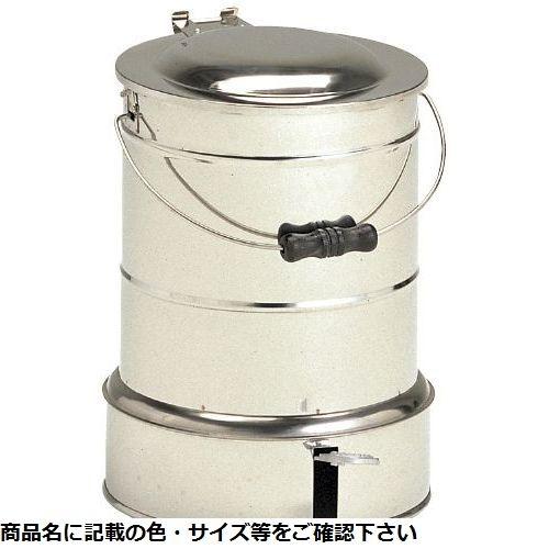 その他 汚物缶(足踏式)24cm)ステンレス (ホーローソウツキ) CMD-00177230【納期目安:1ヶ月】