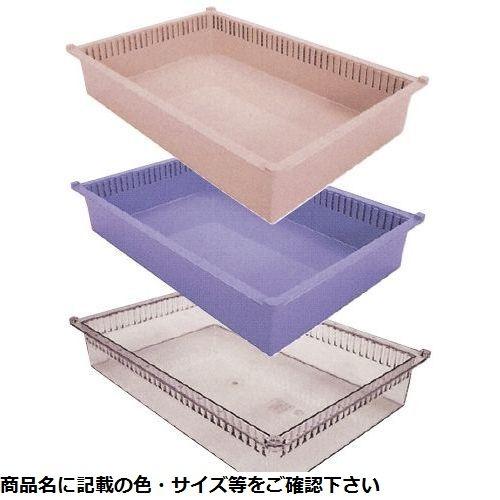 サカセ化学工業 プラスチックトレー PT64-10 透明 CMD-0022280303【納期目安:1週間】