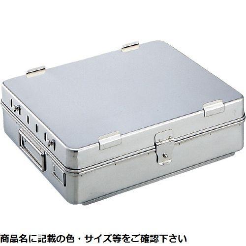 その他 中材用角型カスト(Dタイプ)大 M-33D(35.5×29×9.5cm) CMD-00169560【納期目安:3週間】