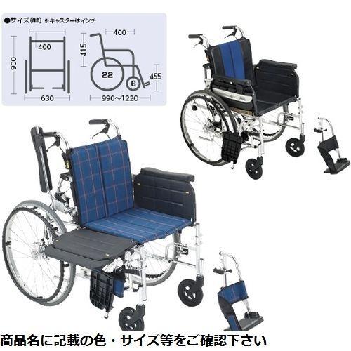 その他 ミキ 横乗り車いすラクーネ2 LK-2 ブルー(S7W4) CMD-0087273702
