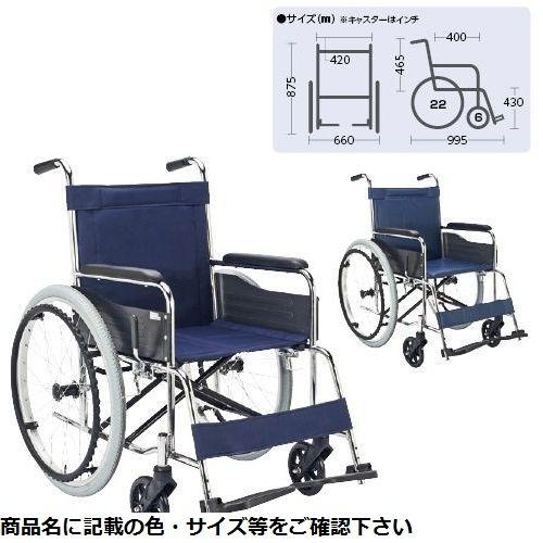 その他 車いす(自走・スチール)背固定 EX-10B(ビニールレザー・コン) CMD-00871381