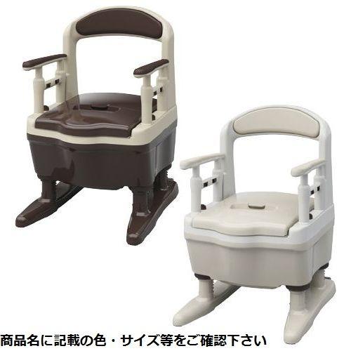 アロン化成 ポータブルトイレジャスピタ(ブラウン 533-901(ソフトベンザ) CMD-00124782