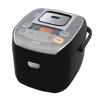 アイリスオーヤマ 米屋の旨み 銘柄炊き 圧力IHジャー 炊飯器10合 (ブラック) RC-PA10-B